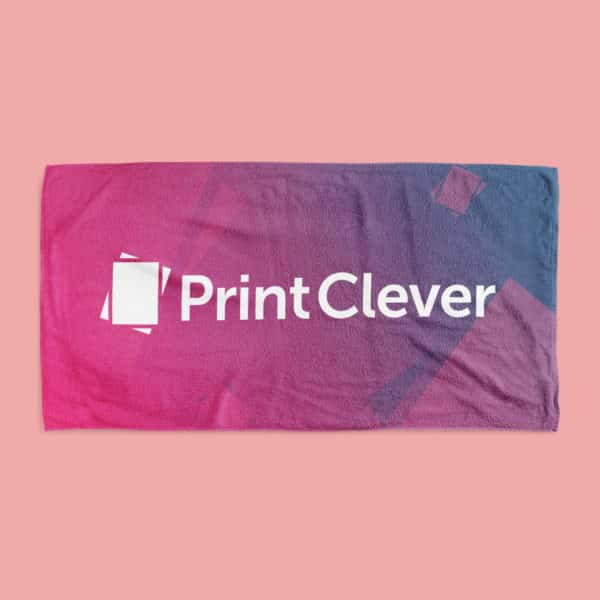 All-Over Printed Towel