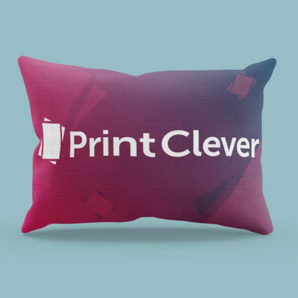 All-Over Print Linen Cushion